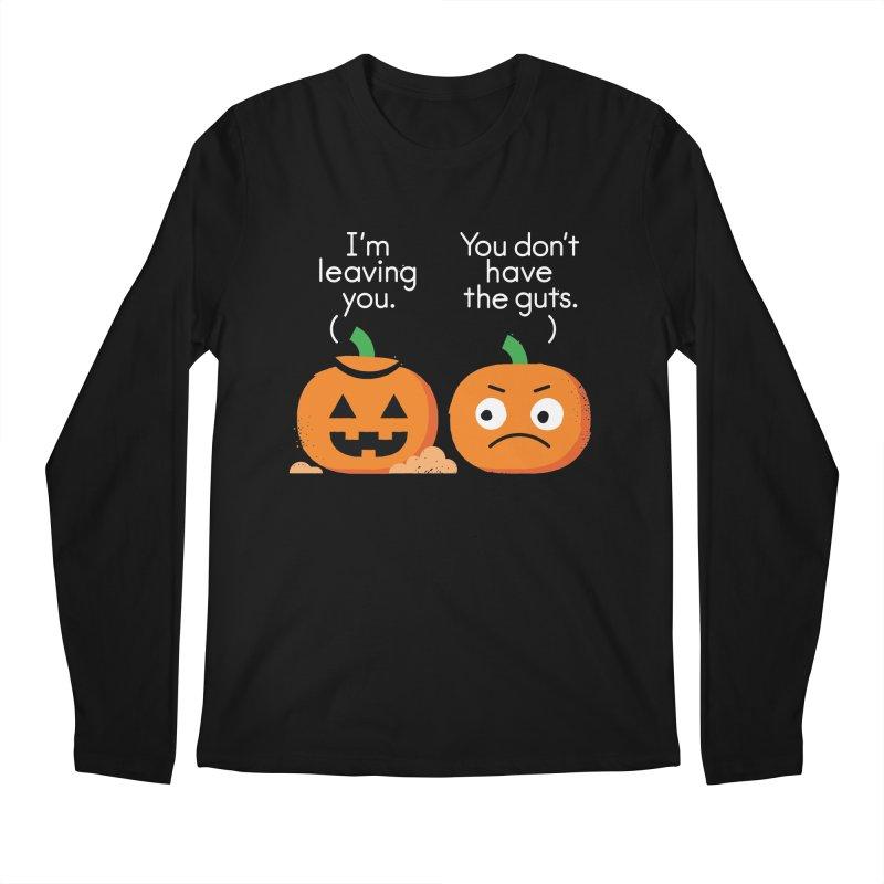 Gourd Riddance Men's Regular Longsleeve T-Shirt by David Olenick