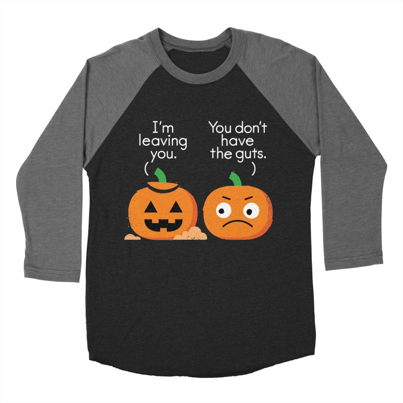 Gourd Riddance Men's Baseball Triblend Longsleeve T-Shirt by David Olenick