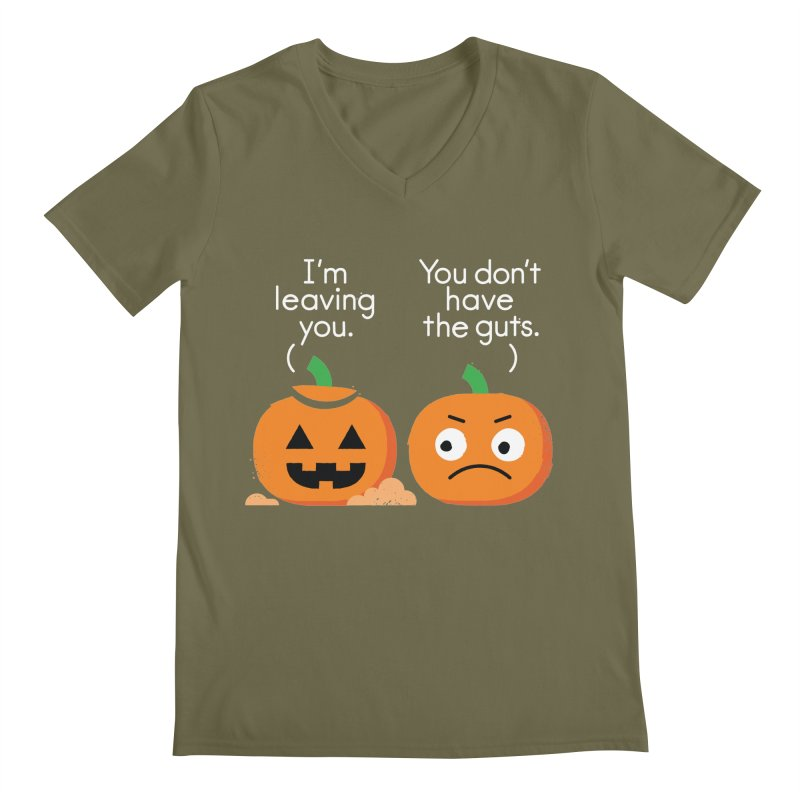 Gourd Riddance Men's Regular V-Neck by David Olenick