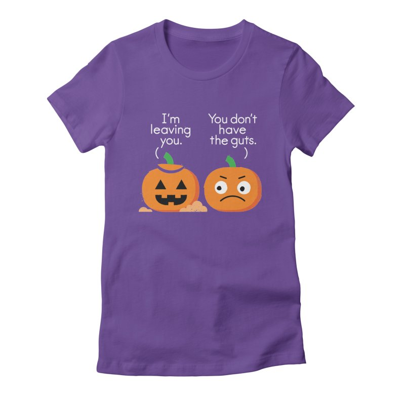 Gourd Riddance Women's Fitted T-Shirt by David Olenick