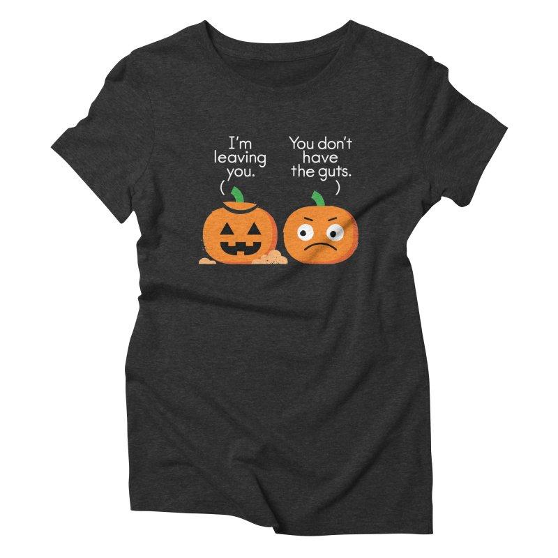 Gourd Riddance Women's Triblend T-Shirt by David Olenick