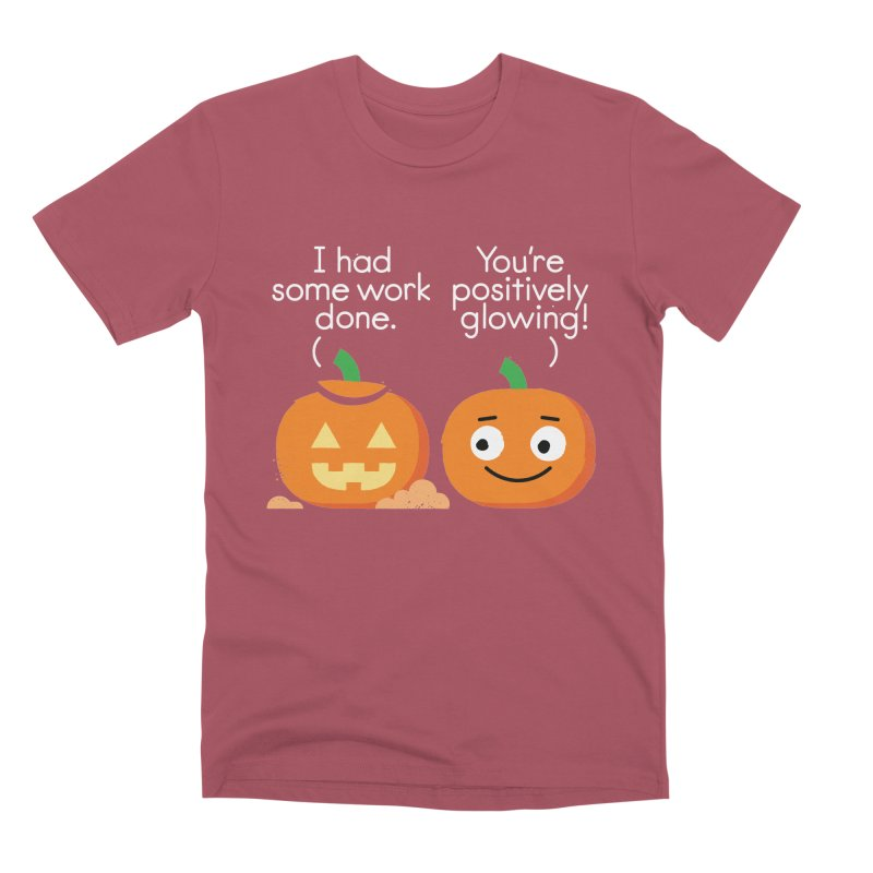 Carving Out Some Me Time Men's Premium T-Shirt by David Olenick