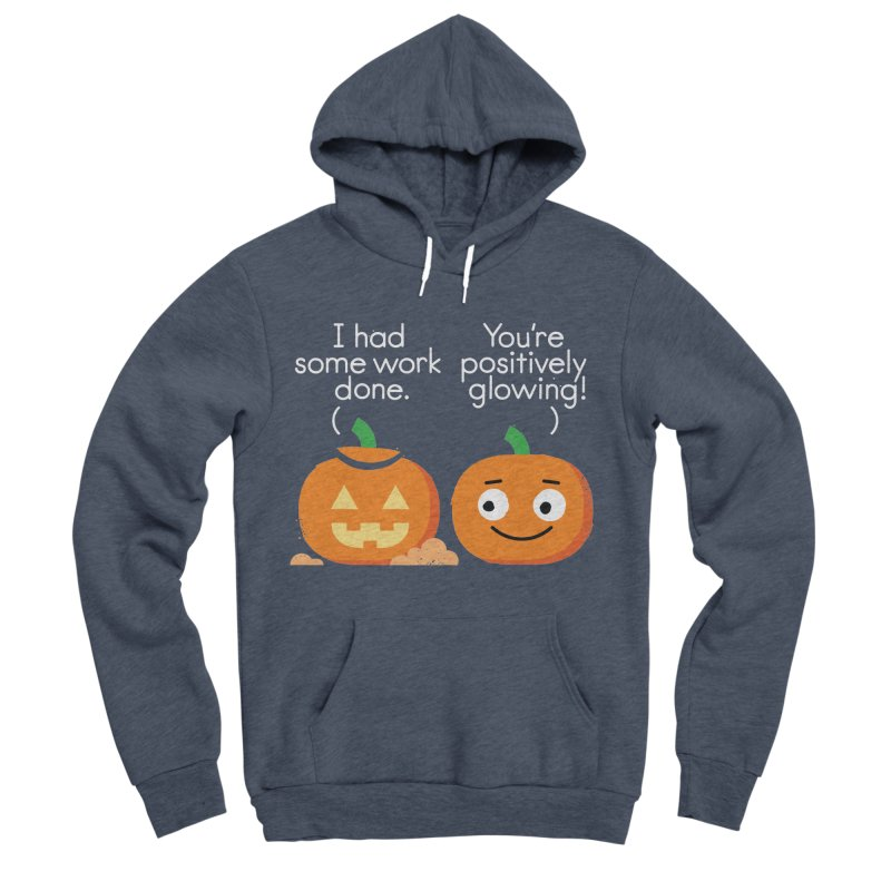 Carving Out Some Me Time Men's Sponge Fleece Pullover Hoody by David Olenick
