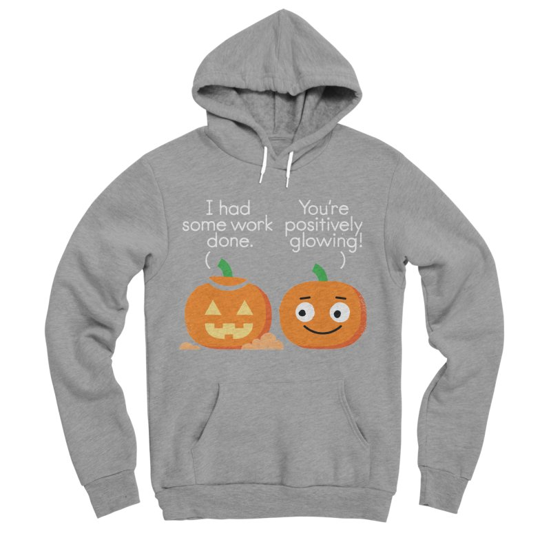 Carving Out Some Me Time Women's Sponge Fleece Pullover Hoody by David Olenick