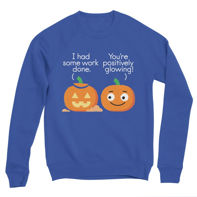 Carving Out Some Me Time Women's Sponge Fleece Sweatshirt by David Olenick