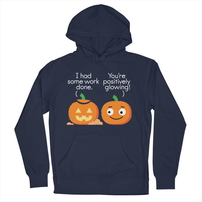 Carving Out Some Me Time Women's French Terry Pullover Hoody by David Olenick