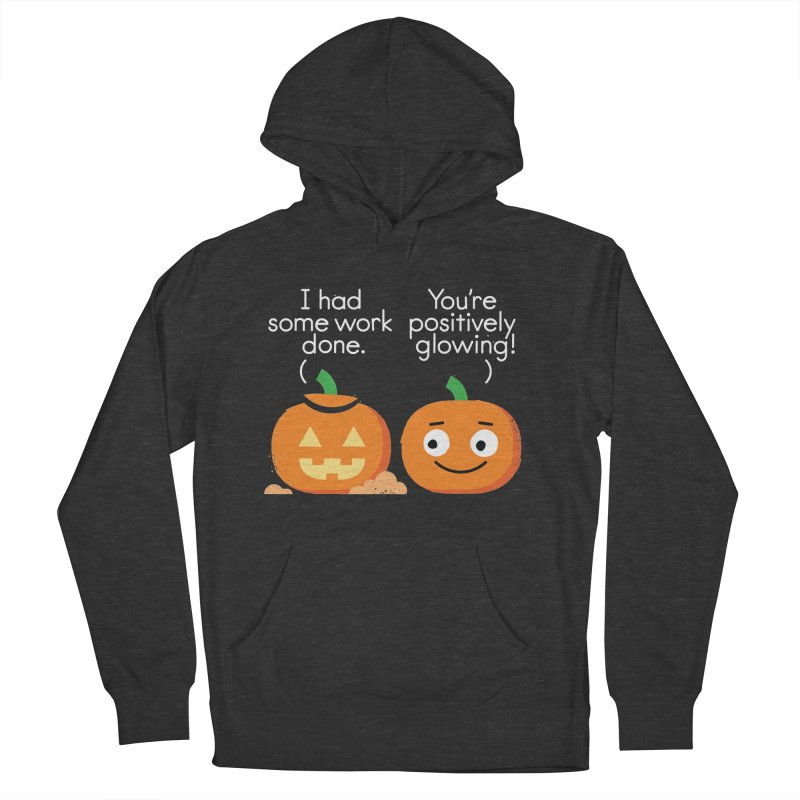 Carving Out Some Me Time Men's French Terry Pullover Hoody by David Olenick