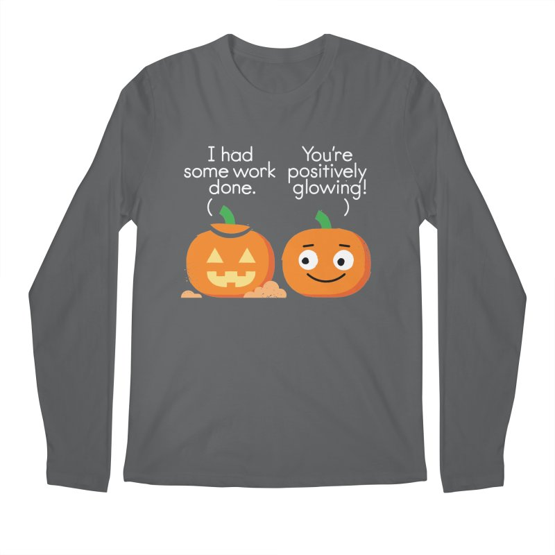 Carving Out Some Me Time Men's Regular Longsleeve T-Shirt by David Olenick