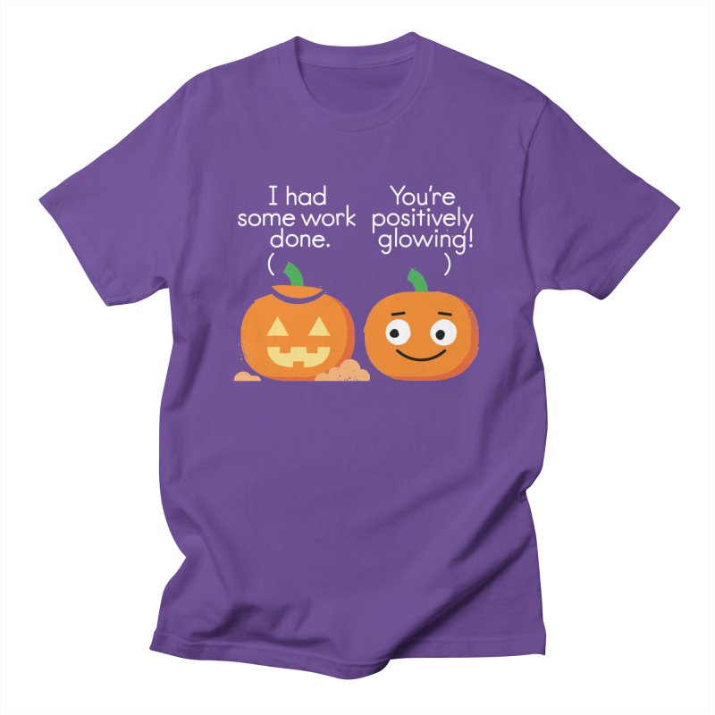 Carving Out Some Me Time Men's Regular T-Shirt by David Olenick