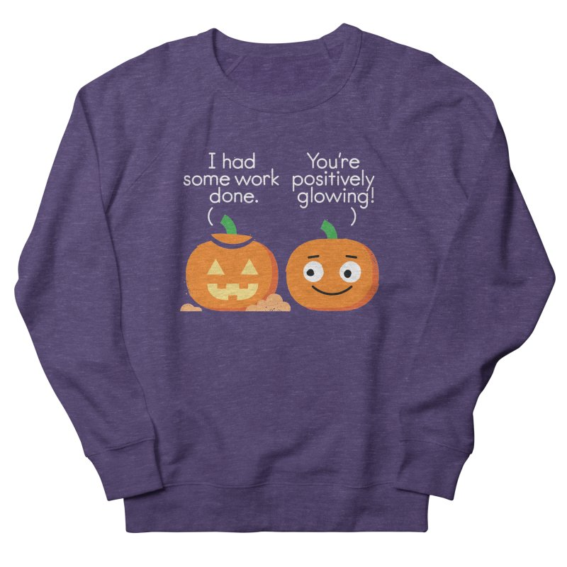 Carving Out Some Me Time Women's French Terry Sweatshirt by David Olenick
