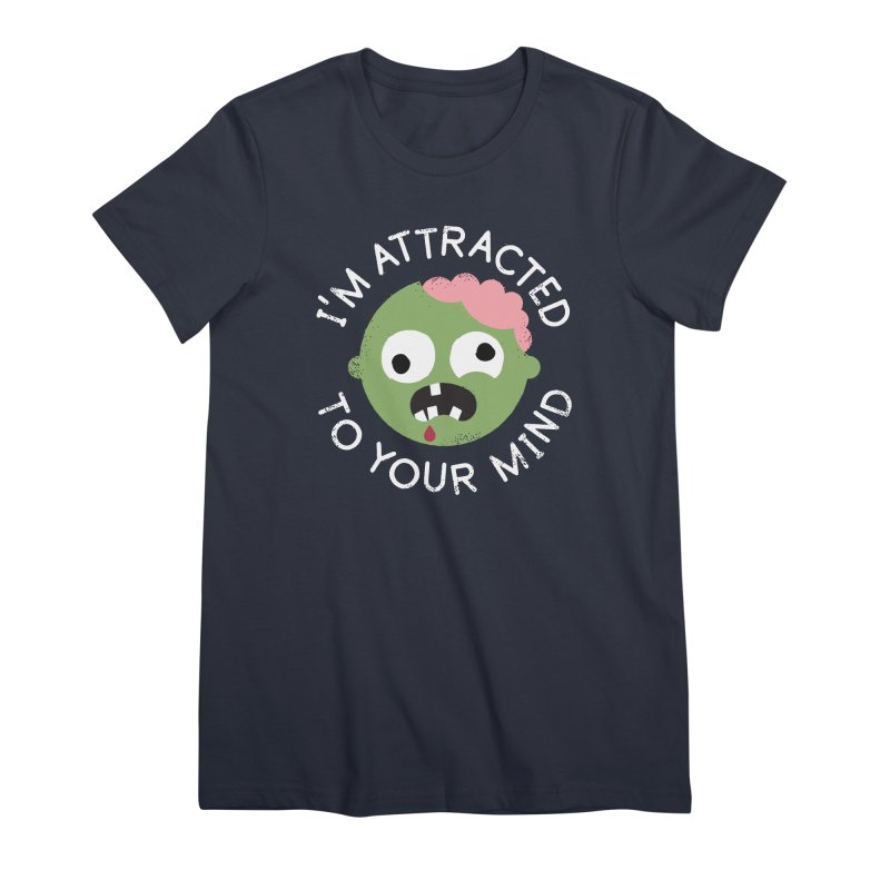 No Brainer Women's Premium T-Shirt by David Olenick