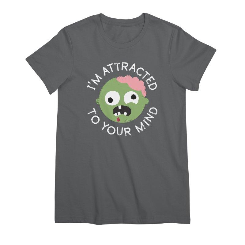 No Brainer Women's Premium T-Shirt by David Olenick