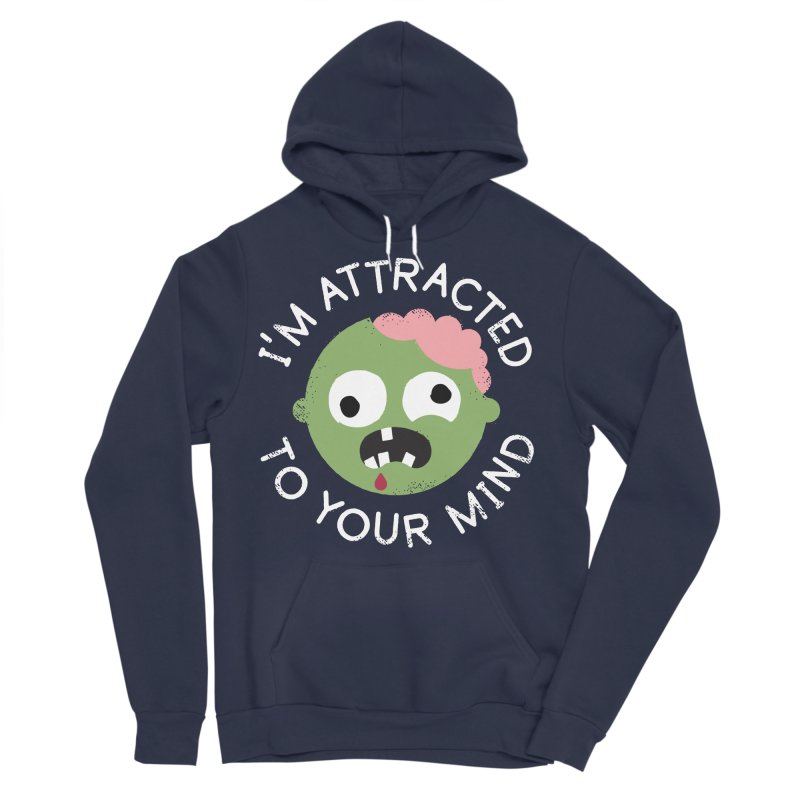 No Brainer Men's Sponge Fleece Pullover Hoody by David Olenick