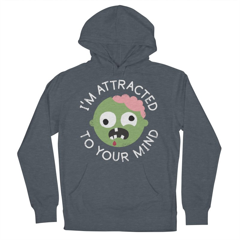 No Brainer Women's French Terry Pullover Hoody by David Olenick