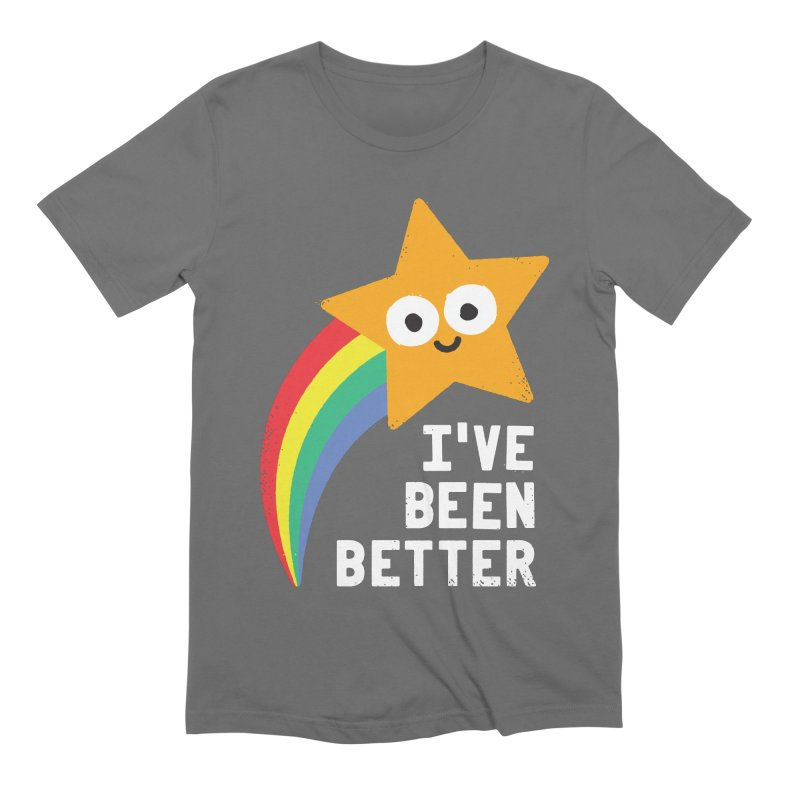 Shooting Straight Men's Extra Soft T-Shirt by David Olenick