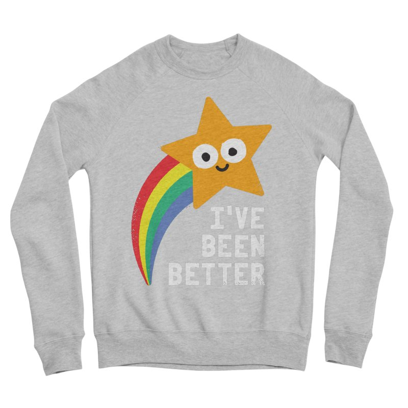 Shooting Straight Men's Sponge Fleece Sweatshirt by David Olenick