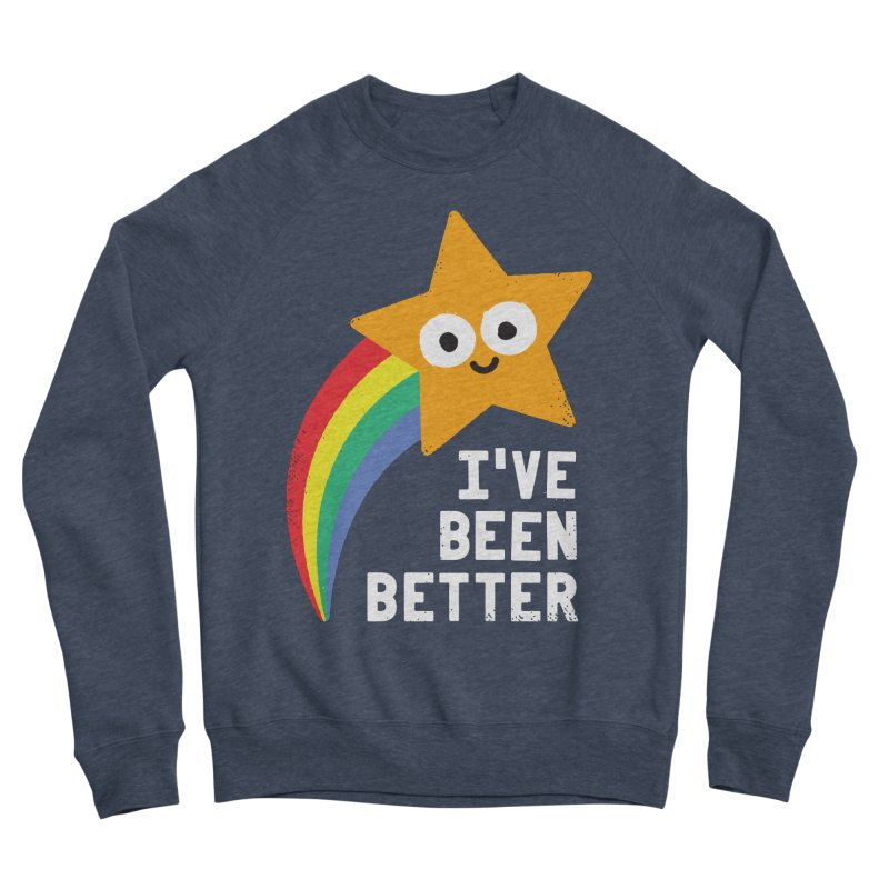 Shooting Straight Women's Sponge Fleece Sweatshirt by David Olenick