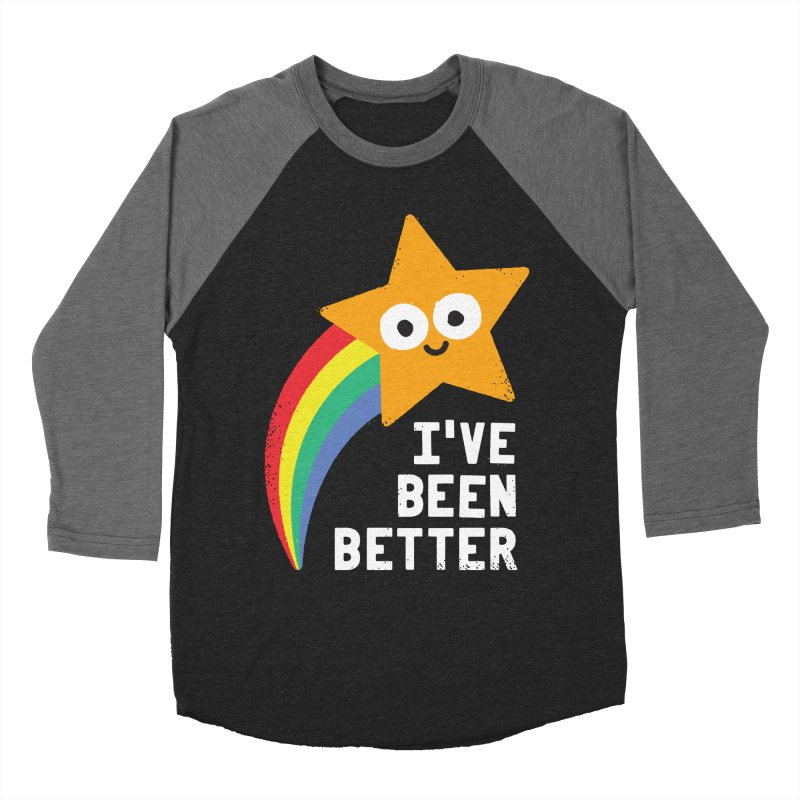 Shooting Straight Men's Baseball Triblend Longsleeve T-Shirt by David Olenick