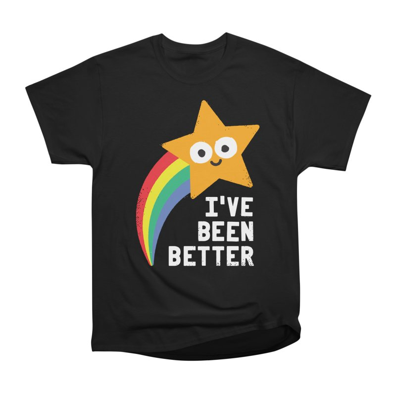 Shooting Straight Men's Heavyweight T-Shirt by David Olenick