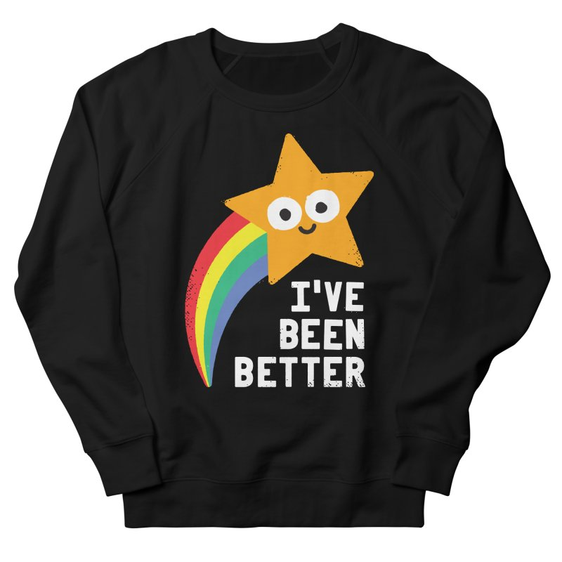 Shooting Straight Women's French Terry Sweatshirt by David Olenick