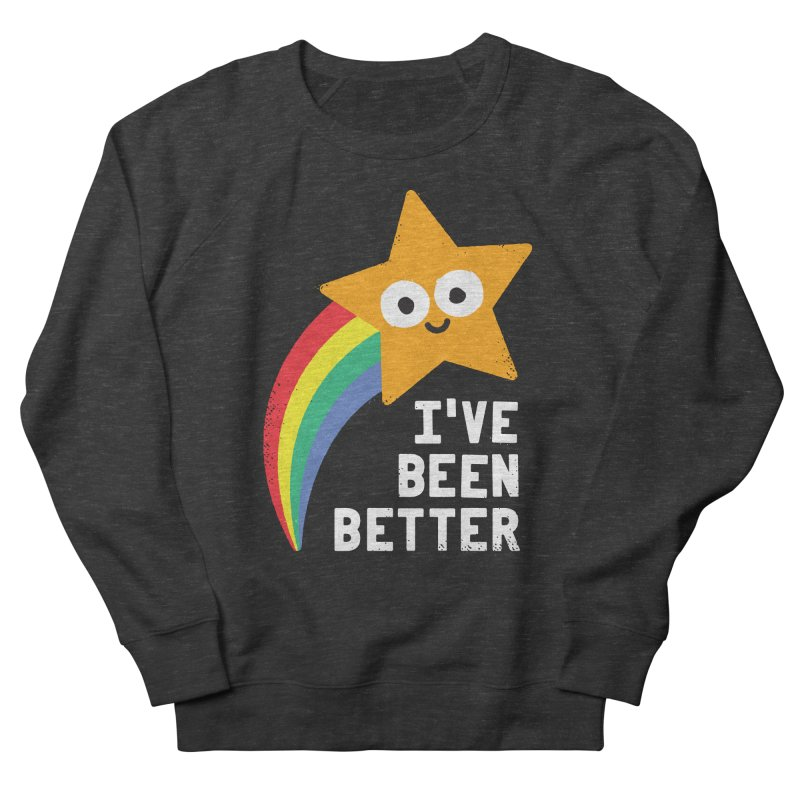 Shooting Straight Men's French Terry Sweatshirt by David Olenick