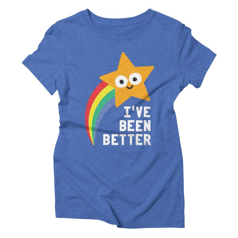 Shooting Straight Women's Triblend T-Shirt by David Olenick
