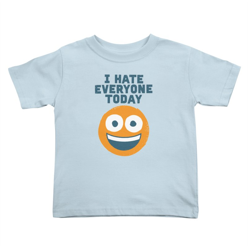 Loathe Is the Answer Kids Toddler T-Shirt by David Olenick