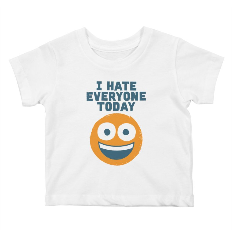 Loathe Is the Answer Kids Baby T-Shirt by David Olenick