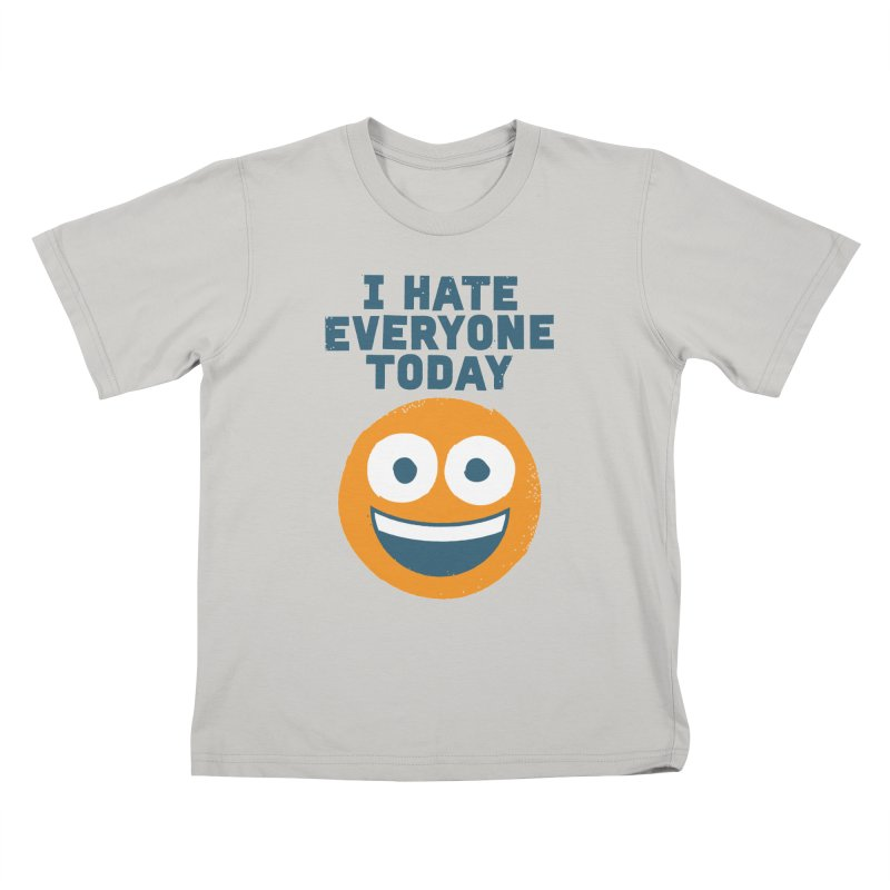 Loathe Is the Answer Kids T-shirt by David Olenick