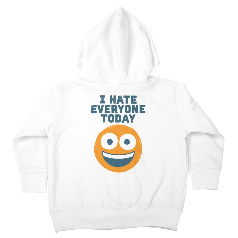 Loathe Is the Answer Kids Toddler Zip-Up Hoody by David Olenick