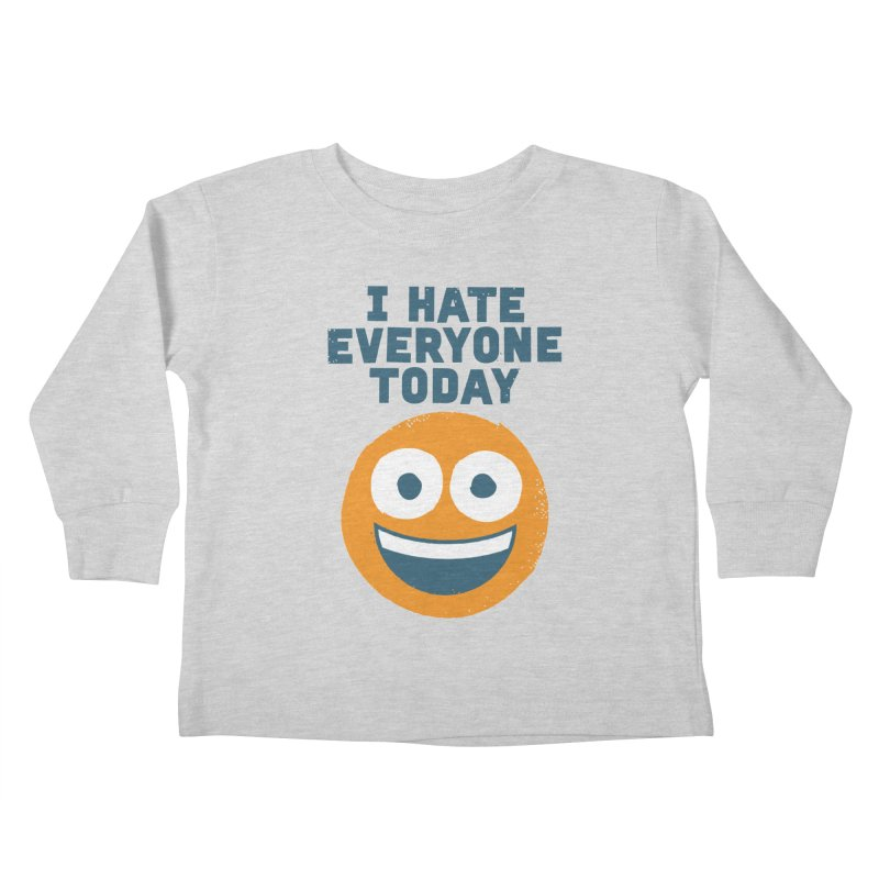 Loathe Is the Answer Kids Toddler Longsleeve T-Shirt by David Olenick