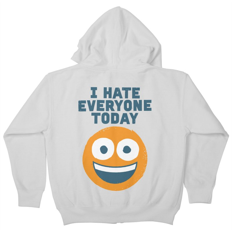 Loathe Is the Answer Kids Zip-Up Hoody by David Olenick