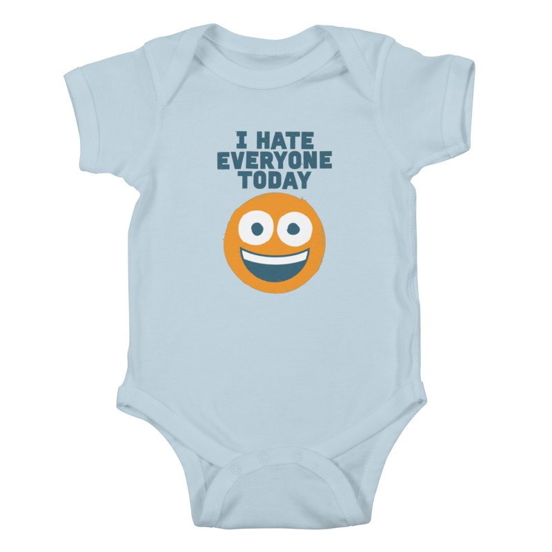 Loathe Is the Answer Kids Baby Bodysuit by David Olenick