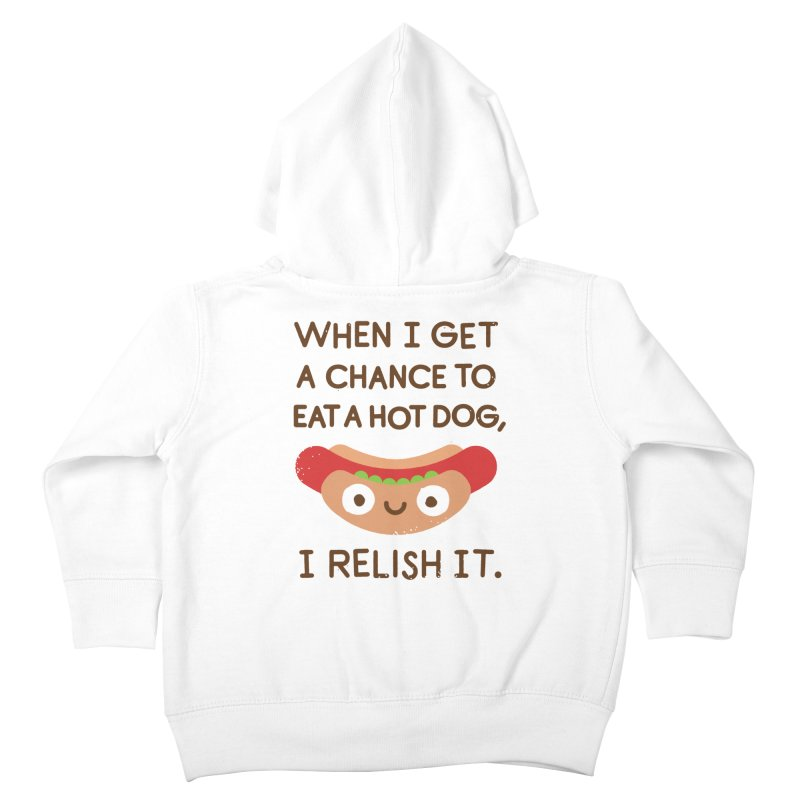 A Frank Assessment Kids Toddler Zip-Up Hoody by David Olenick