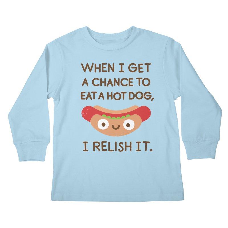 A Frank Assessment Kids Longsleeve T-Shirt by David Olenick