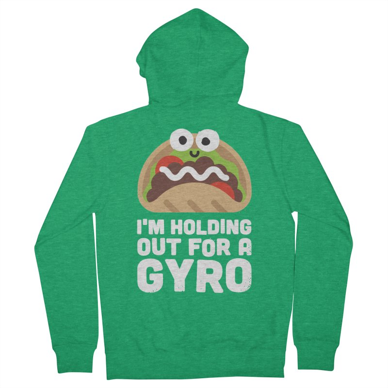 Tzatziki and Ye Shall Find Men's Zip-Up Hoody by David Olenick