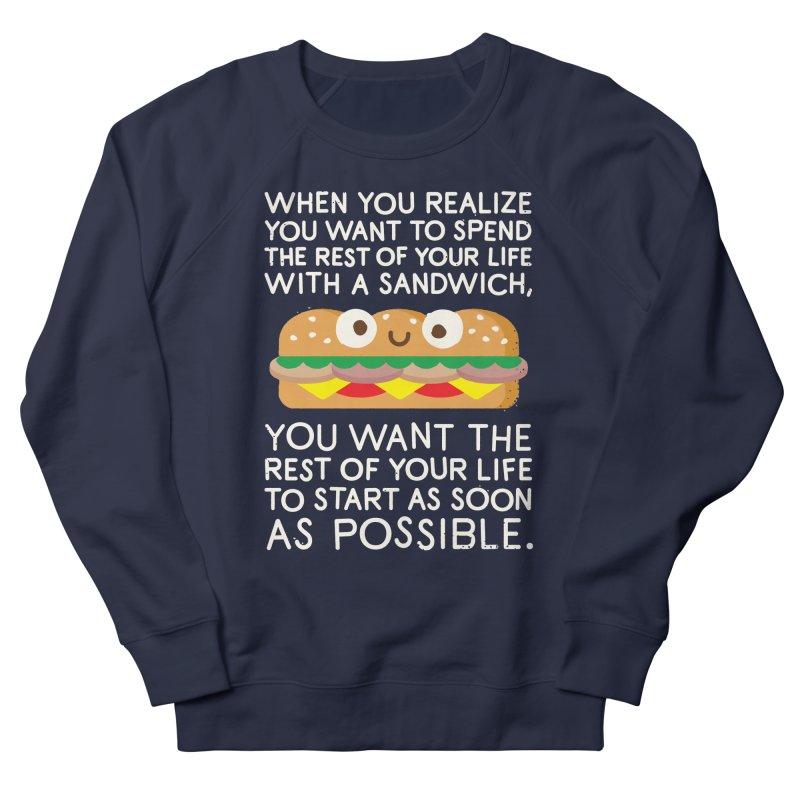 When Harry Met Sandwich Men's Sweatshirt by David Olenick