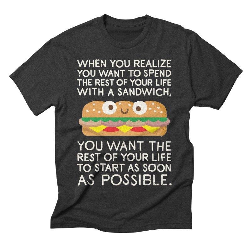 When Harry Met Sandwich Men's Triblend T-shirt by David Olenick