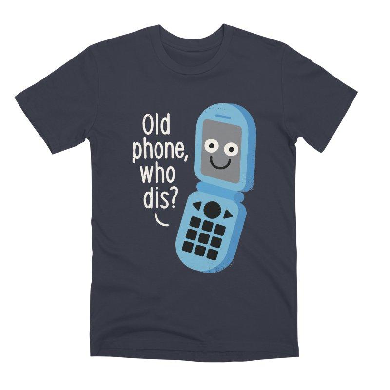 Flip Service Men's Premium T-Shirt by David Olenick