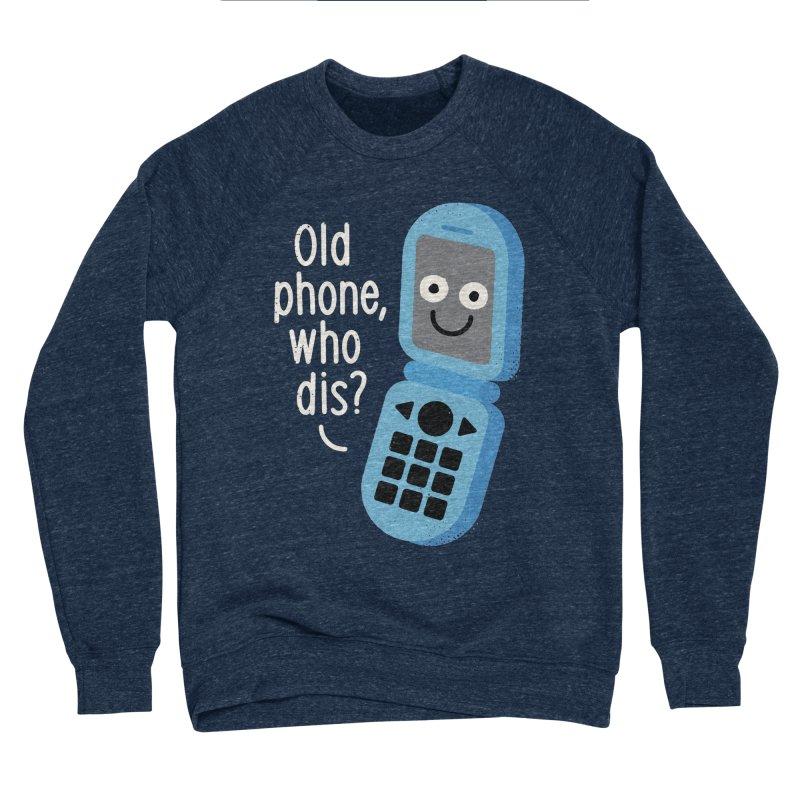 Flip Service Men's Sponge Fleece Sweatshirt by David Olenick