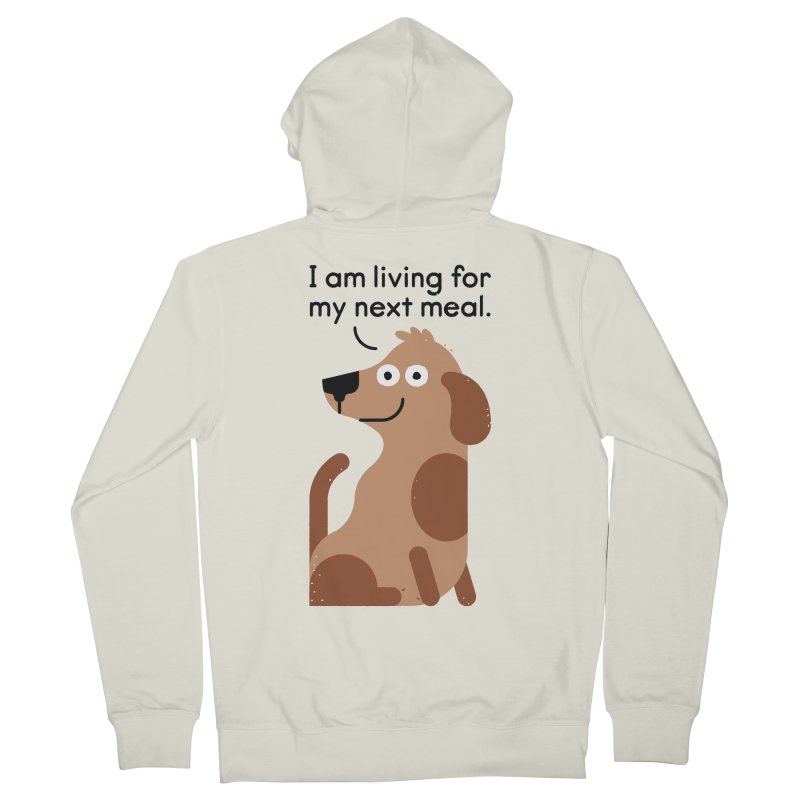 Feeding Disorder Men's French Terry Zip-Up Hoody by David Olenick