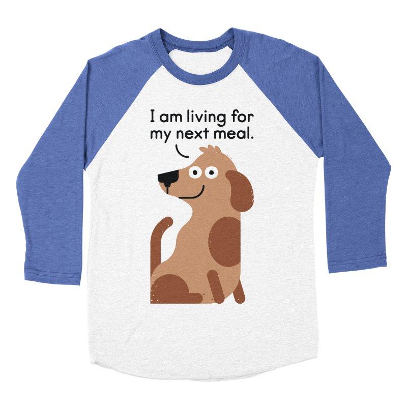 Feeding Disorder Men's Baseball Triblend Longsleeve T-Shirt by David Olenick