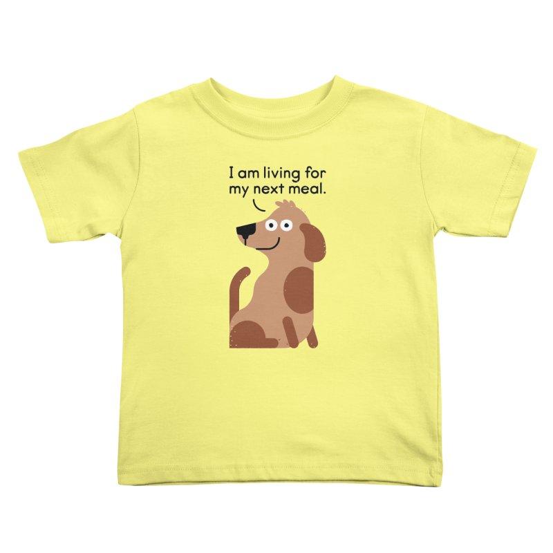 Feeding Disorder Kids Toddler T-Shirt by David Olenick