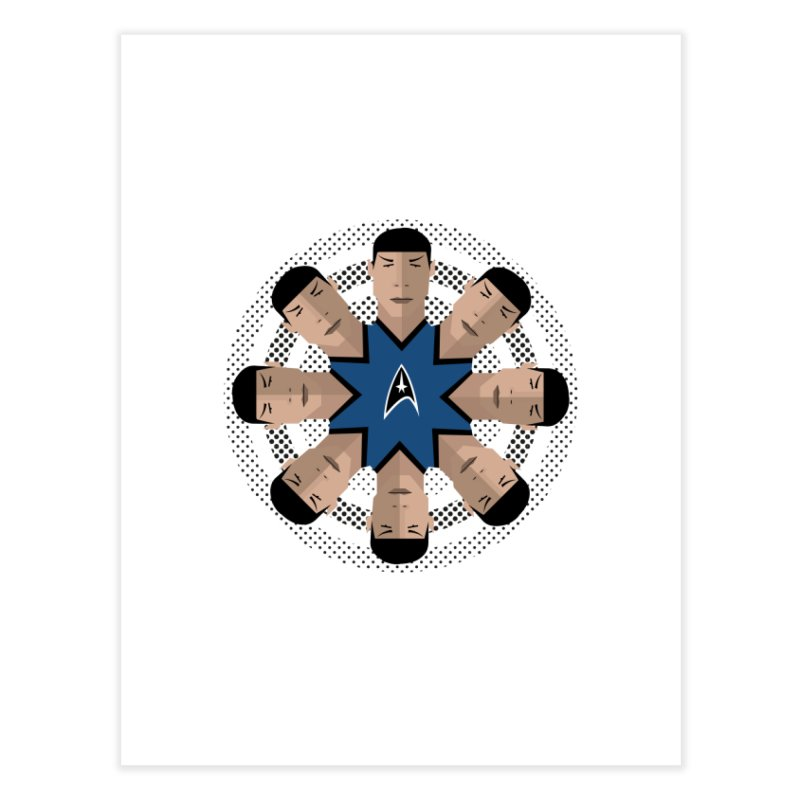 Seeing Spock Home Fine Art Print by Mexican Dave's Artist Shop