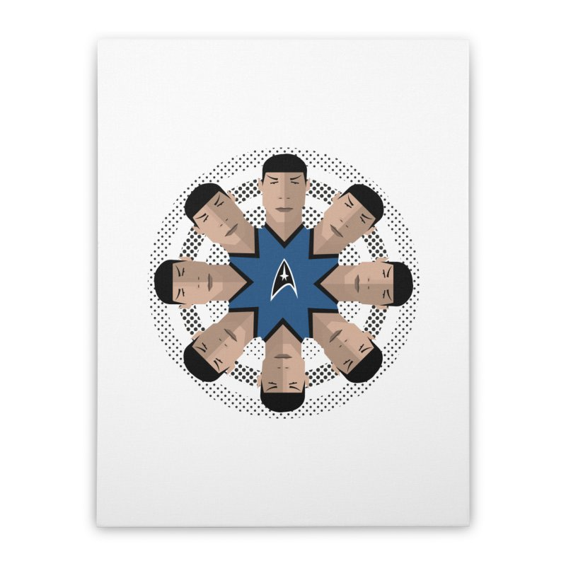 Seeing Spock Home Stretched Canvas by Mexican Dave's Artist Shop