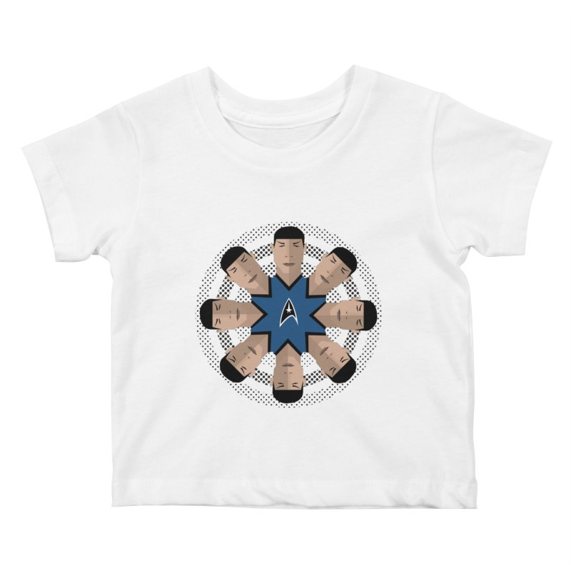 Seeing Spock Kids Baby T-Shirt by Mexican Dave's Artist Shop