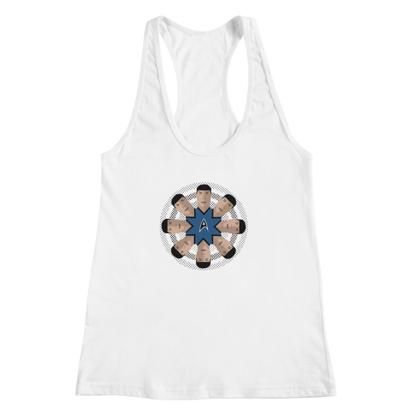 Seeing Spock Women's Racerback Tank by Mexican Dave's Artist Shop