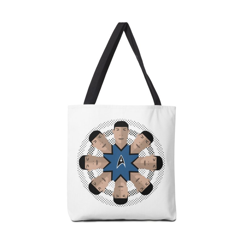 Seeing Spock Accessories Bag by Mexican Dave's Artist Shop