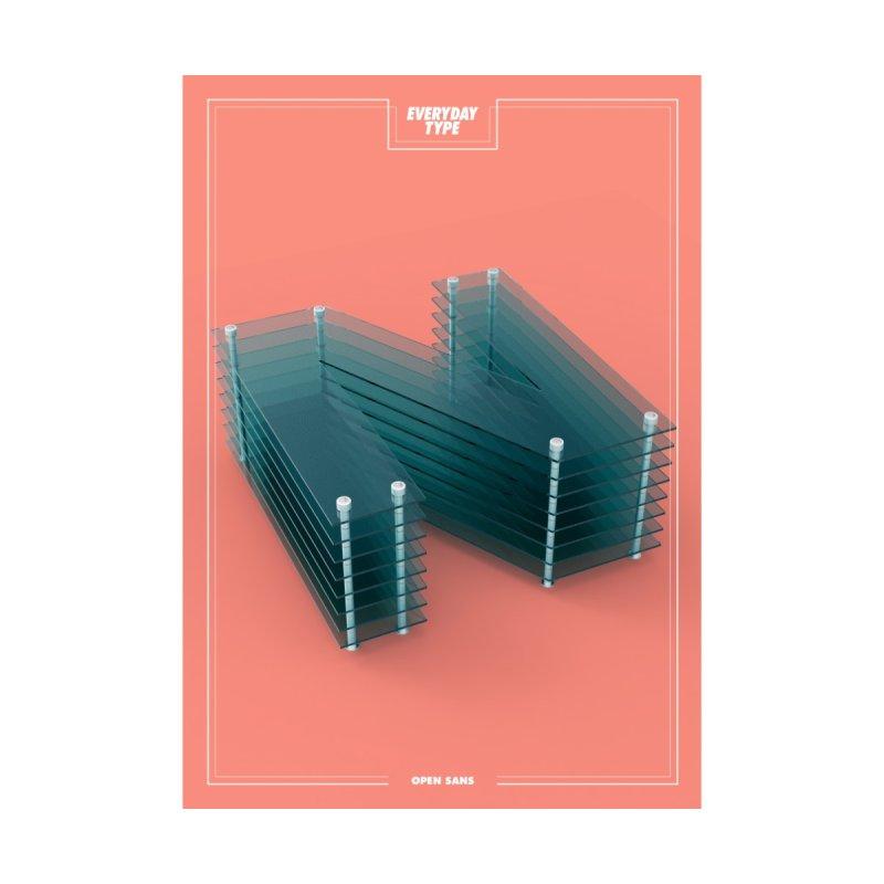 Everyday Type - N by davidsumdesign's Artist Shop