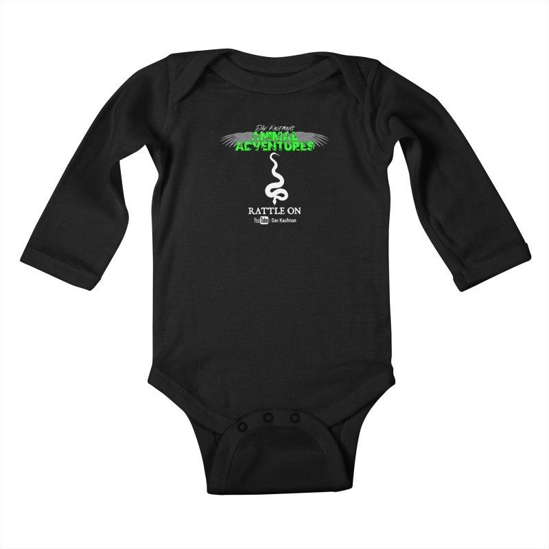 Animal Adventures Kids Baby Longsleeve Bodysuit by Dav Kaufman's Swag Shop!